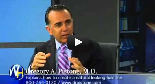 Video: GREGORY A. PISTONE, M.D., SPEAKS ON HAIR TRANSPLANT AND TREATMENT METHODOLOGY