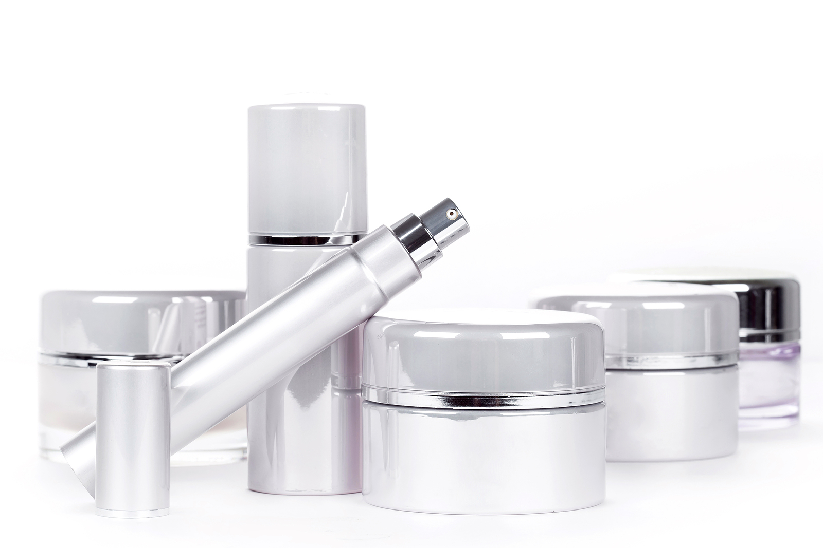 Collection Of Skincare Spa Products