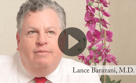 Dr. Barazani talks about platelet-rich plasma treatments to promote hair growth.