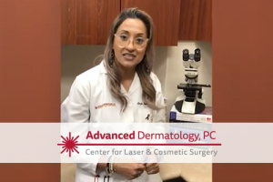 Angie Seelal, RPA-C from Advanced Dermatology speaks