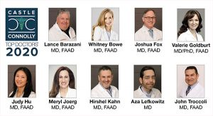 Nine doctors from Advanced Dermatology PC named 2020 Top Doctors by Castle Connolly